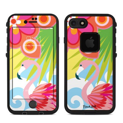 Lifeproof iPhone 7-8 Fre Case Skin - Tropic Fantasia