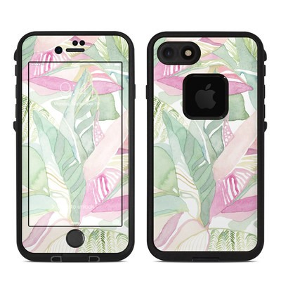 Lifeproof iPhone 7-8 Fre Case Skin - Tropical Leaves