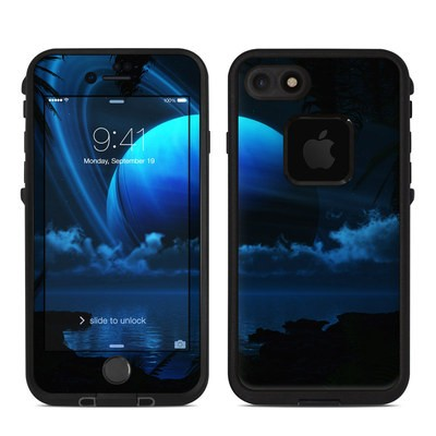 Lifeproof iPhone 7 Fre Case Skin - Tropical Moon