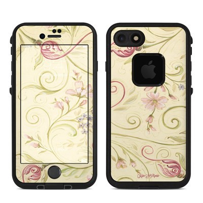 Lifeproof iPhone 7 Fre Case Skin - Tulip Scroll