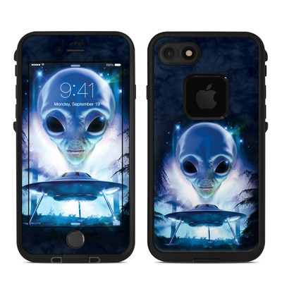 Lifeproof iPhone 7 Fre Case Skin - UFO