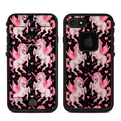 Lifeproof iPhone 7-8 Fre Case Skin - Unicorn Pegasus