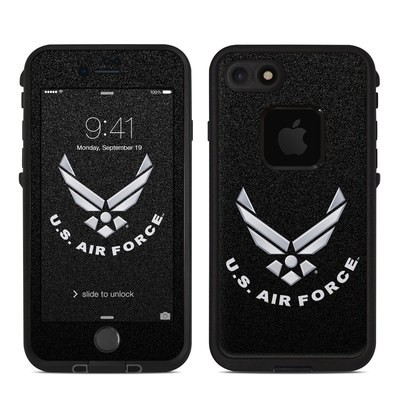 Lifeproof iPhone 7 Fre Case Skin - USAF Black