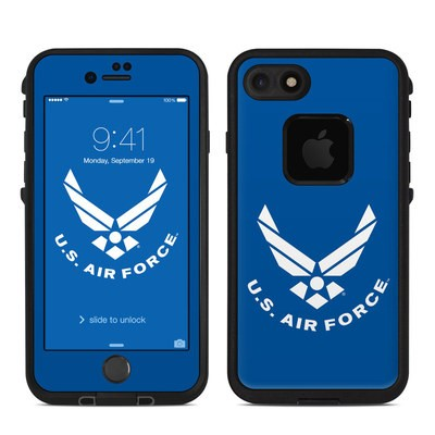 Lifeproof iPhone 7 Fre Case Skin - USAF Blue