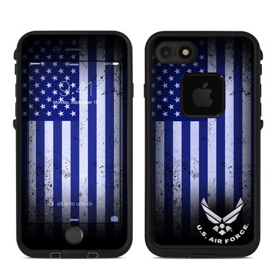 Lifeproof iPhone 7 Fre Case Skin - USAF Flag