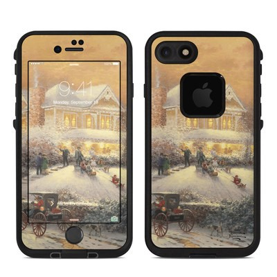 Lifeproof iPhone 7 Fre Case Skin - Victorian Christmas