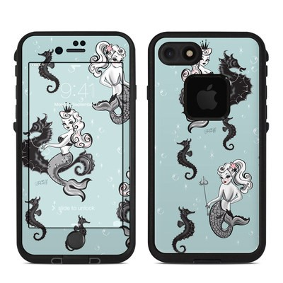 Lifeproof iPhone 7 Fre Case Skin - Vintage Mermaid