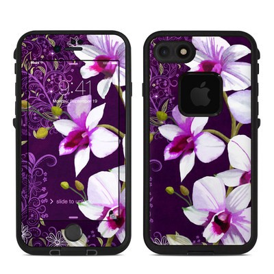 Lifeproof iPhone 7 Fre Case Skin - Violet Worlds