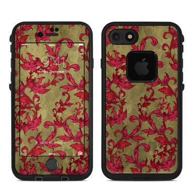 Lifeproof iPhone 7 Fre Case Skin - Vintage Scarlet