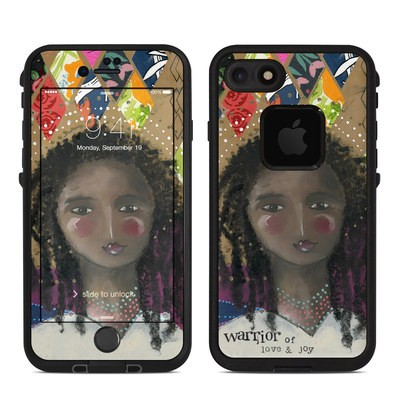 Lifeproof iPhone 7-8 Fre Case Skin - Warrior of Love