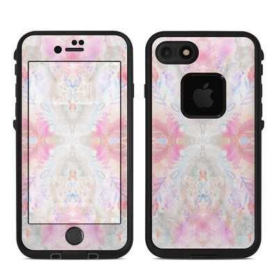 Lifeproof iPhone 7-8 Fre Case Skin - Watercolor Damask