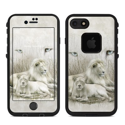 Lifeproof iPhone 7 Fre Case Skin - White Lion