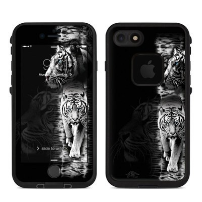 Lifeproof iPhone 7 Fre Case Skin - White Tiger