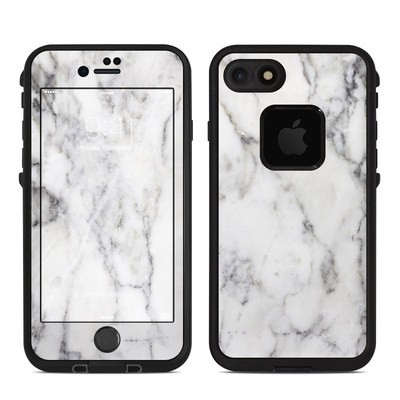 Lifeproof iPhone 7 Fre Case Skin - White Marble