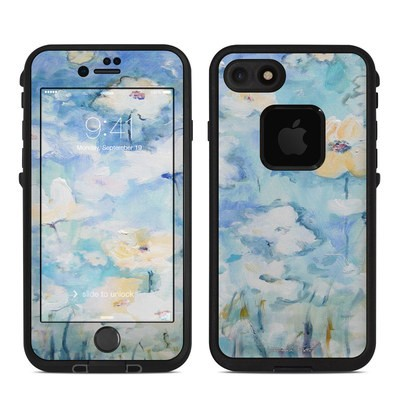 Lifeproof iPhone 7 Fre Case Skin - White & Blue