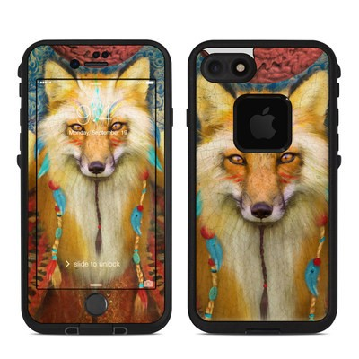 Lifeproof iPhone 7 Fre Case Skin - Wise Fox