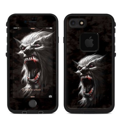 Lifeproof iPhone 7 Fre Case Skin - Wolfman