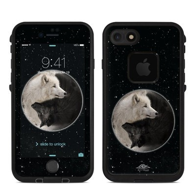Lifeproof iPhone 7 Fre Case Skin - Wolf Zen