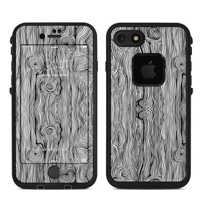 Lifeproof iPhone 7 Fre Case Skin - Woodgrain
