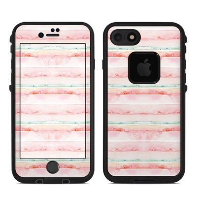 Lifeproof iPhone 7 Fre Case Skin - Watercolor Sunset