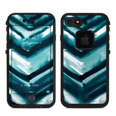 Lifeproof iPhone 7 Fre Case Skin - Watercolor Chevron