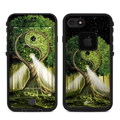 Lifeproof iPhone 7 Fre Case Skin - Yin Yang Tree