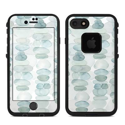 Lifeproof iPhone 7-8 Fre Case Skin - Zen Stones