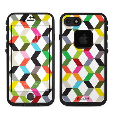 Lifeproof iPhone 7-8 Fre Case Skin - Ziggy Cube