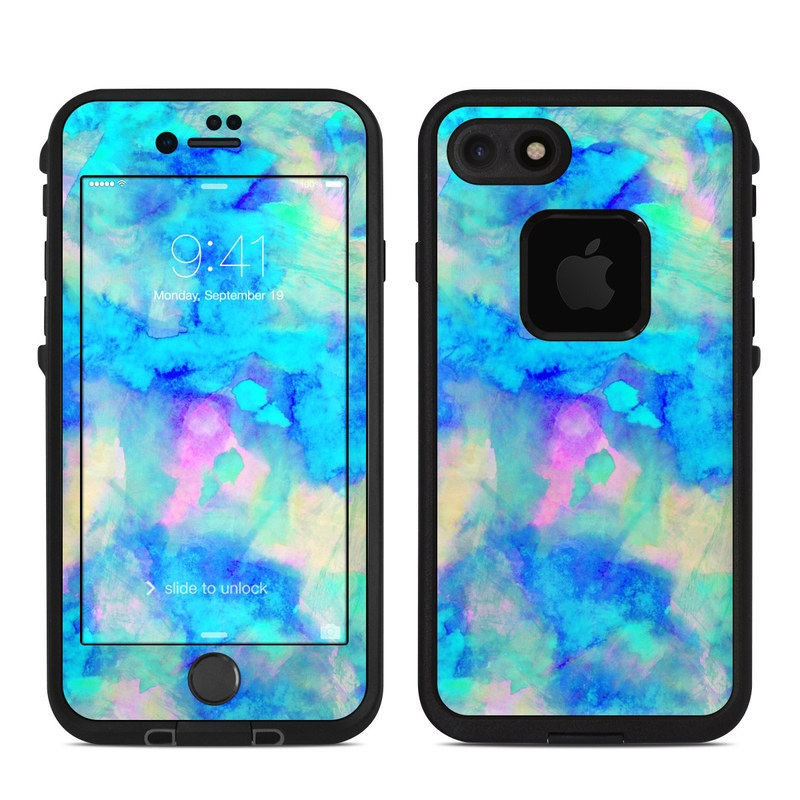 purchase cheap 11f72 53813 Lifeproof iPhone 7 Fre Case Skin - Electrify Ice Blue
