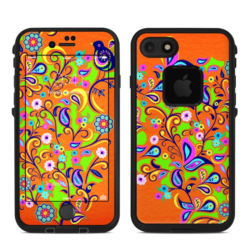 Lifeproof Iphone 7 Fre Case Skin Orange Squirt
