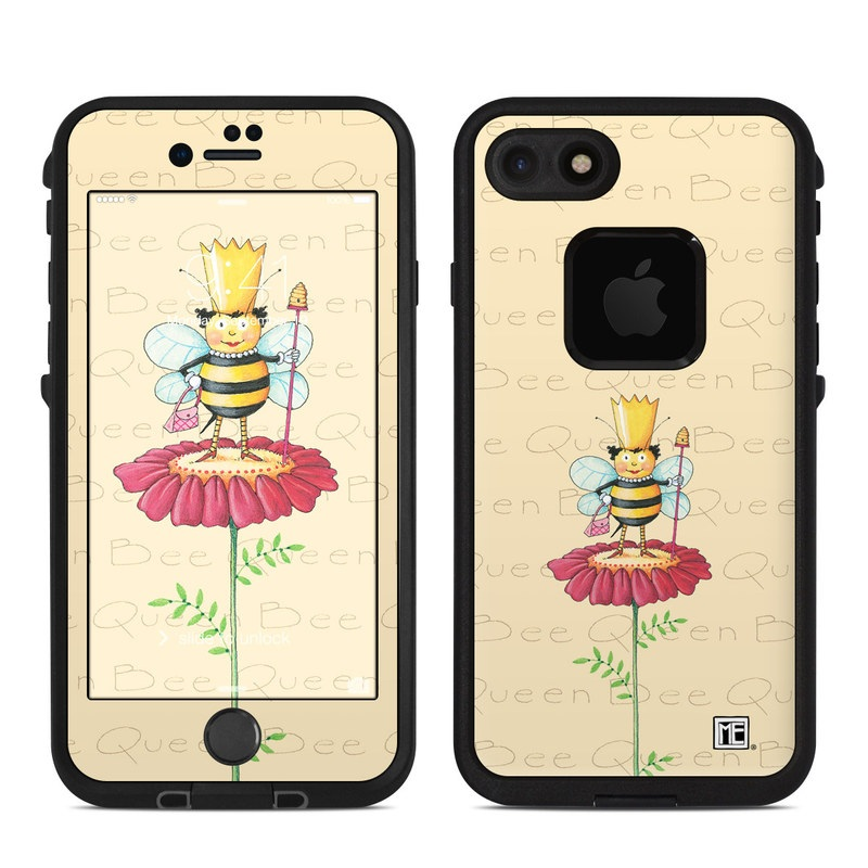 new style 95170 18858 Lifeproof iPhone 7 Fre Case Skin - Queen Bee