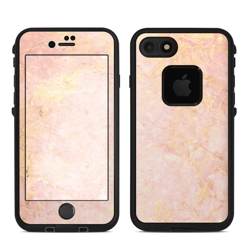 Lifeproof iPhone 7 Fre Case Skin - Rose Gold Marble by Marble ... 86162f83ac05