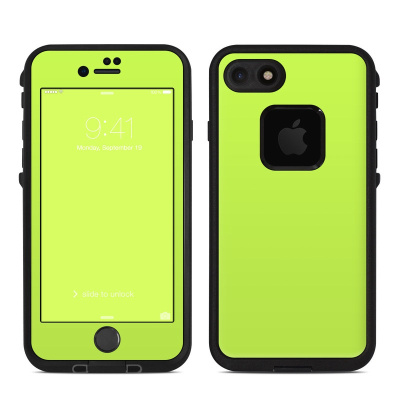 Lifeproof Iphone 7 Fre Case Skin Solid State Lime By