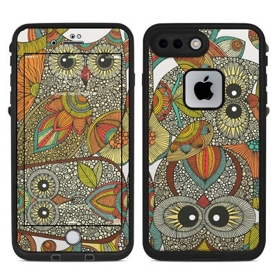 Lifeproof iPhone 7 Plus Fre Case Skin - 4 owls