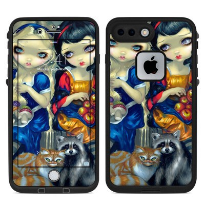 Lifeproof iPhone 7 Plus Fre Case Skin - Alice & Snow White