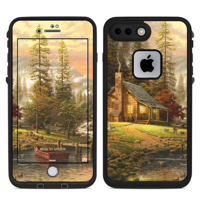 Lifeproof iPhone 7 Plus Fre Case Skin - A Peaceful Retreat