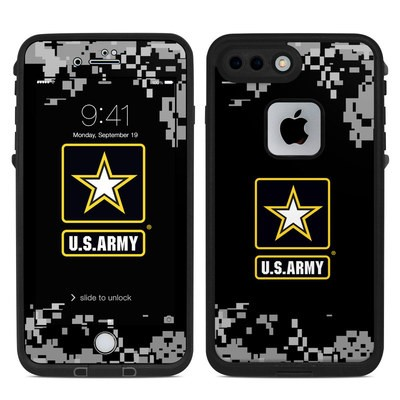 Lifeproof iPhone 7 Plus Fre Case Skin - Army Pride