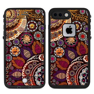 Lifeproof iPhone 7 Plus Fre Case Skin - Autumn Mehndi