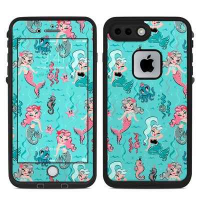 Lifeproof iPhone 7-8 Plus Fre Case Skin - Babydoll Mermaids