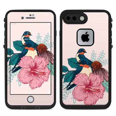 Lifeproof iPhone 7 Plus Fre Case Skin - Barn Swallows