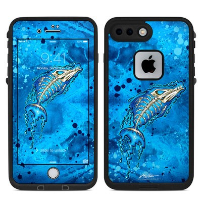 Lifeproof iPhone 7 Plus Fre Case Skin - Barracuda Bones