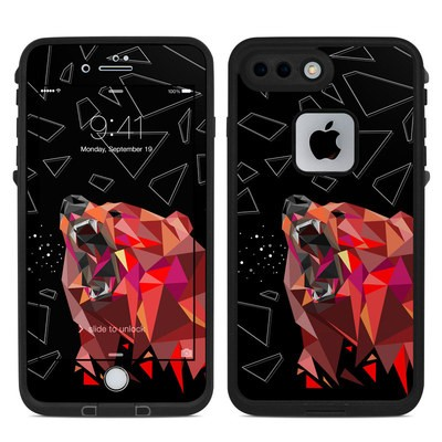 Lifeproof iPhone 7 Plus Fre Case Skin - Bears Hate Math
