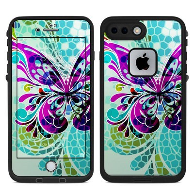 Lifeproof iPhone 7-8 Plus Fre Case Skin - Butterfly Glass