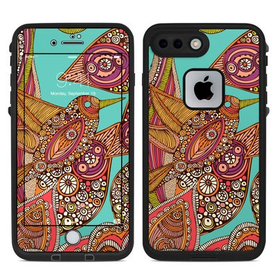 Lifeproof iPhone 7 Plus Fre Case Skin - Bird In Paradise