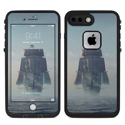 Lifeproof iPhone 7-8 Plus Fre Case Skin - Black Sails