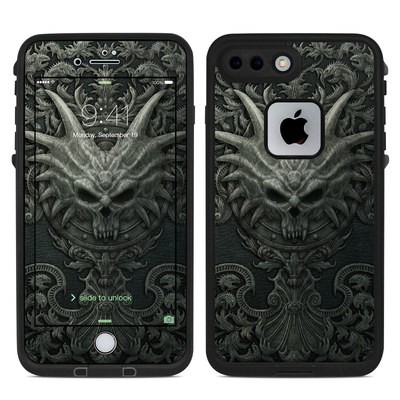 Lifeproof iPhone 7 Plus Fre Case Skin - Black Book