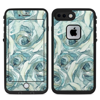 Lifeproof iPhone 7 Plus Fre Case Skin - Bloom Beautiful Rose