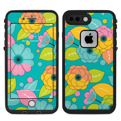 Lifeproof iPhone 7-8 Plus Fre Case Skin - Blossoms