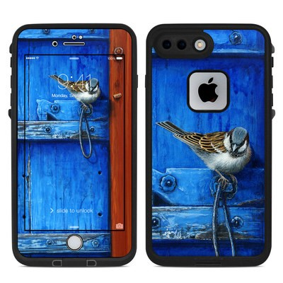 Lifeproof iPhone 7-8 Plus Fre Case Skin - Blue Door