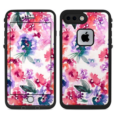 Lifeproof iPhone 7-8 Plus Fre Case Skin - Blurred Flowers
